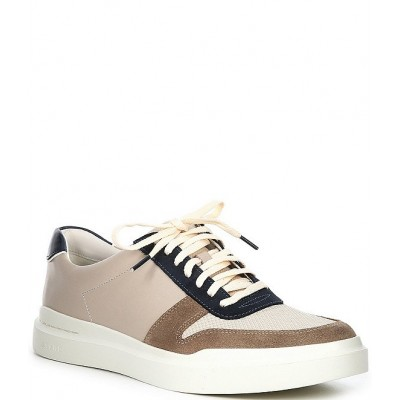 Cole Haan Men Men's GrandPrø Rally Court Leather Lace-Up Sneakers PFFYCJG