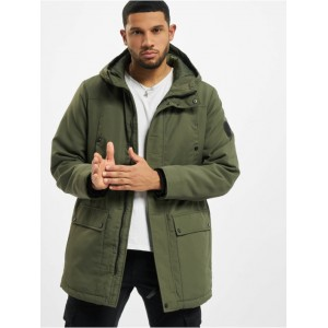 Only & Sons Men Parka onsPeter Techincal in green polyester 2021 New NDZFT847