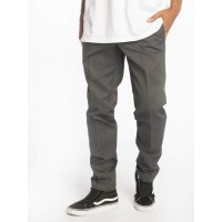Dickies Men Chino Slim Fit Work in grey polyester 35% cotton Ships Free IDYFA219