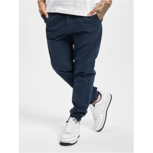 Only & Sons Men Chino Onscam Aged Cuff PG 9626 in blue cotton 2% elastane Sale TNLFM403