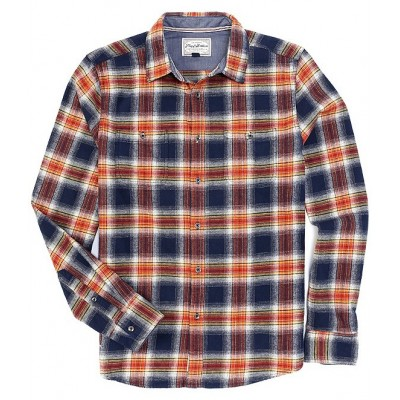Flag and Anthem Men Nickelsville Long Sleeve Button Down Flannel Shirt NDBYACS