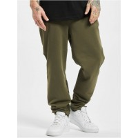 Urban Classics Men Sweat Pant Military in olive cotton 35% polyester 2021 New CMWMP136
