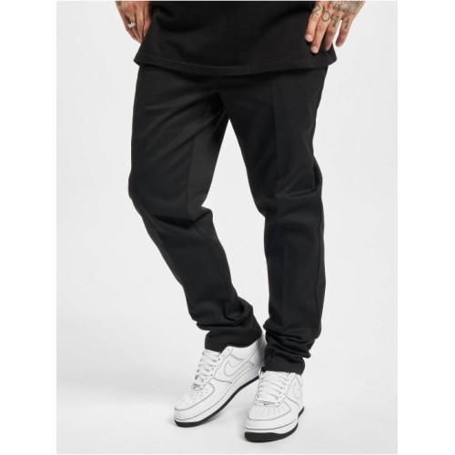 Dickies Men Chino Slim Fit Work in black polyester 35% cotton On Line RYNYW643