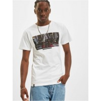 DEDICATED Men T-Shirt Stockholm in white On Sale QMTVW769