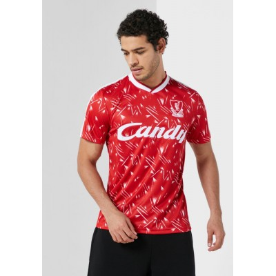 Liverpool FC Men red Liverpool Candy Home Jersey ZY6CW2326