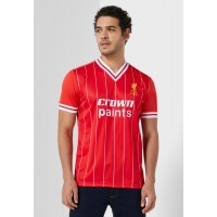 Liverpool FC Men red Liverpool 1982 Home Jersey WQ4UL1008