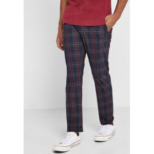 Selected Homme Men multicolour Mylotartan Checked Slim Fit Trousers 5IJOF1803