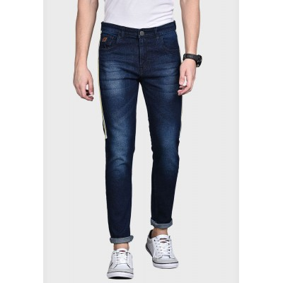Campus Sutra Men blue Jeans with Side Stripes N78NV9033